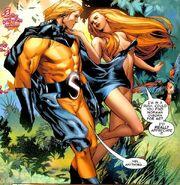 Robert Reynolds & Venus (Siren) (Earth-616) from Agents of Atlas Vol 2 1 0001