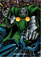Victor von Doom (Earth-616) from Marvel Masterpieces Trading Cards 1992 0001