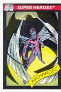 Warren Worthington III (Earth-616) from Marvel Universe Cards Series I 0001