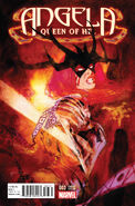 Angela Queen of Hel Vol 1 3 Sienkiewicz Variant