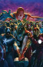 Avengers Vol 8 10 Ross Variant Textless