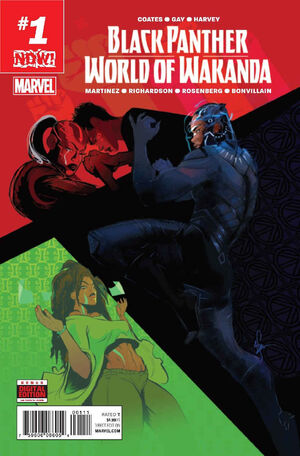 Black Panther World of Wakanda Vol 1 1