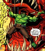 Bruce Banner (Earth-616) from Hulk Broken Worlds Vol 1 1