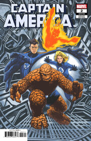 Captain America Vol 9 2 Return of the Fantastic Four Variant