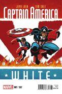 Captain America White Vol 1 1 Sale Variant
