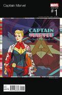 Captain Marvel Vol 9 1 Hip-Hop Variant