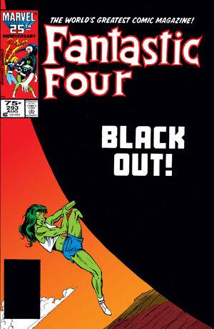 Fantastic Four Vol 1 293