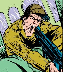 Fritz (Terrorist) (Earth-616) from Amazing Spider-Man Vol 1 328 001