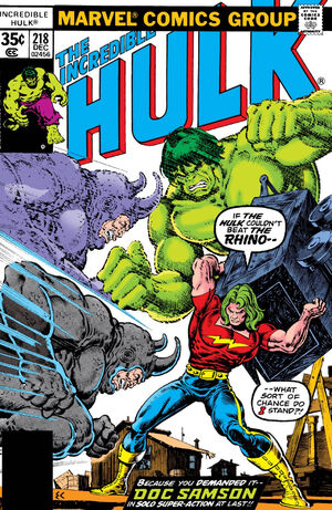Incredible Hulk Vol 1 218