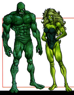 Quons (Species) from Official Handbook of the Marvel Universe A-Z Update Vol 1 4 001
