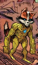 Rocket Raccoon (Earth-18138) from Cosmic Ghost Rider Vol 1 3 001