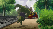 Thor Odinson and Bruce Banner (Earth-8096) from Hulk Vs. (film) 0004