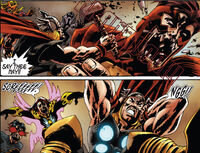 Thunderbolts (Earth-2149) and Thor Odinson (Earth-2149) from Marvel Zombies Dead Days Vol 1 1 0001