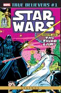 True Believers Star Wars - Vader vs. Leia Vol 1 1