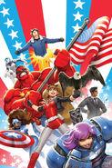 U.S.Avengers Vol 1 2 Nakayama Variant Textless
