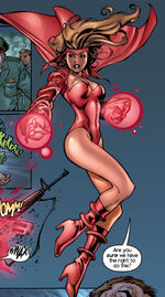 Wanda Lensherr (Earth-1610) from Ultimate X-Men Vol 1 ½ 0001