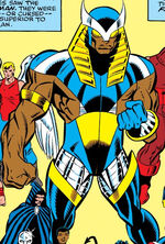 William Foster (Earth-9105) from New Warriors Vol 1 11 0001