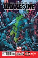 Wolverine Vol 5 5 Textless