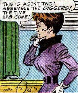 Agent 2 (Erika Wolfmann) (Tales of Suspense -72)