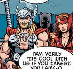 Avengers (Earth-231013) from Marvel NOW WHAT! Vol 1 1 0001