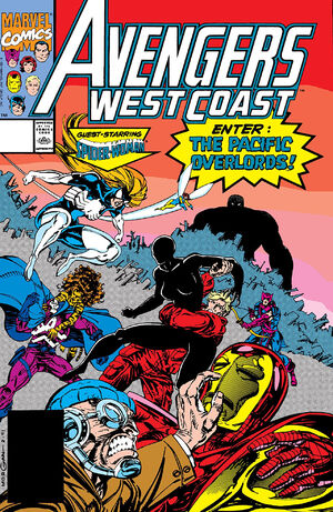 Avengers West Coast Vol 2 70