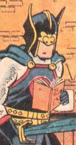 Dane Whitman (Earth-89768) from Fred Hembeck Destroys the Marvel Universe Vol 1 1 0001