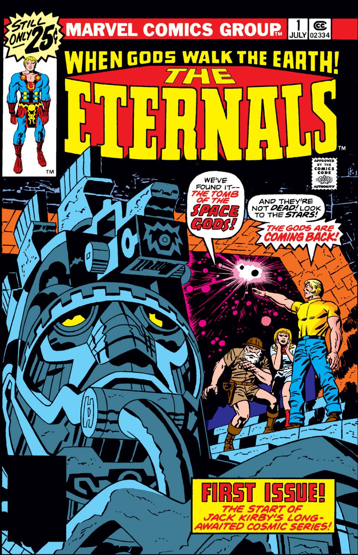 Resultado de imagem para the eternals #1 (july 1976)