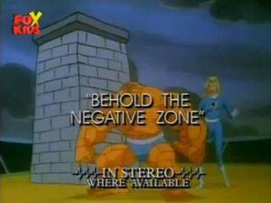 Fantastic Four (1994 animated series) Season 1 12 Title Card