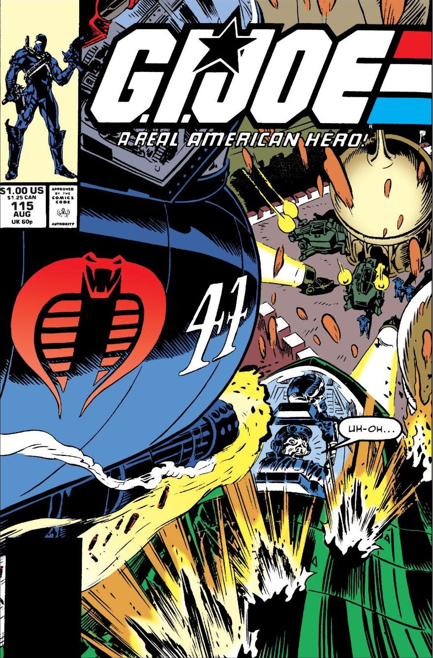 G.I. Joe A Real American Hero Vol 1 115
