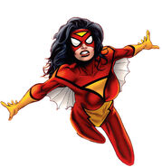 Jessica Drew (Earth-616) from Spider-Woman Vol 5 1 (cover) 001