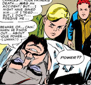 Kurt Marko (Earth-616), Cain Marko (Earth-616) and Charles Xavier (Earth-616) from X-Men Vol 1 12 0001