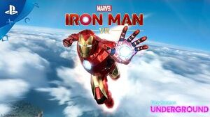 Marvel's Iron Man VR – Demo Gameplay PlayStation Underground
