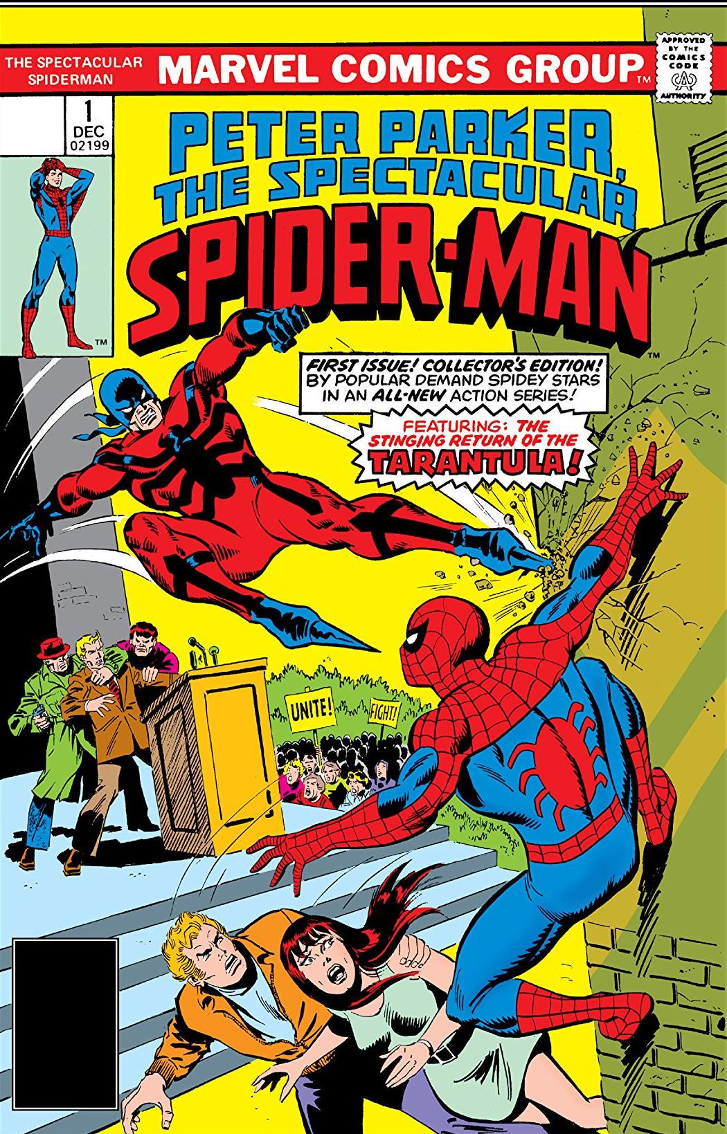 Peter Parker, The Spectacular Spider-Man Vol 1 1