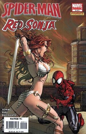 Spider-Man Red Sonja Vol 1 2