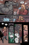 Thor Odinson (Earth-1610) and Bruce Banner (Earth-1610) from Ultimate Comics Ultimates Vol 1 26 003