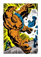 Torgo (Earth-616) and Benjamin Grimm (Earth-616) from Fantastic Four Vol 1 93 0001