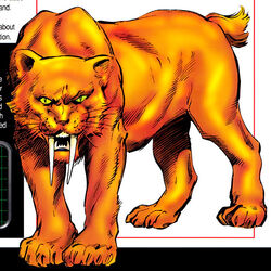 Zabu (Earth-616) from Marvel Pets Handbook Vol 1 1 0001