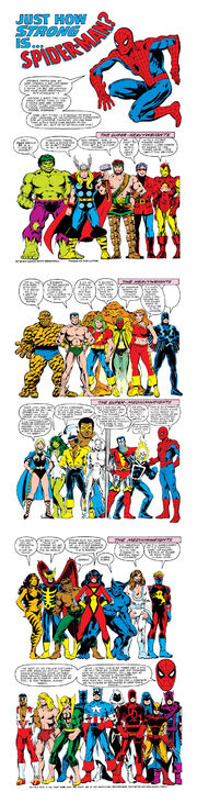 Amazing Spider-Man Annual Vol 1 15 page - Power Rankings