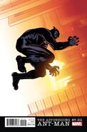 Astonishing Ant-Man Vol 1 11 Black Panther Variant