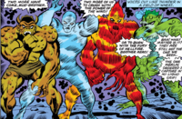 Brothers Four (Earth-616) Marvel Two-In-One Vol 1 33