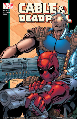 Cable & Deadpool Vol 1 23