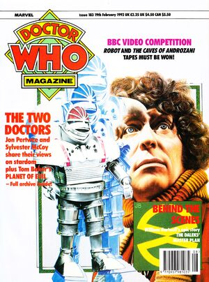 Doctor Who Magazine Vol 1 183