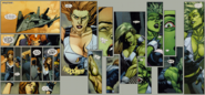 Elizabeth Ross (Earth-1610) Ultimate Wolverine vs. Hulk Vol 1 4 transformation