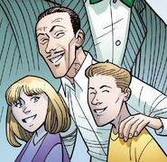 Frederick Foswell (Earth-616), Frederick Foswell Jr. (Earth-616) and Janice Foswell (Earth-616) from Amazing Spider-Man Vol 5 13 001