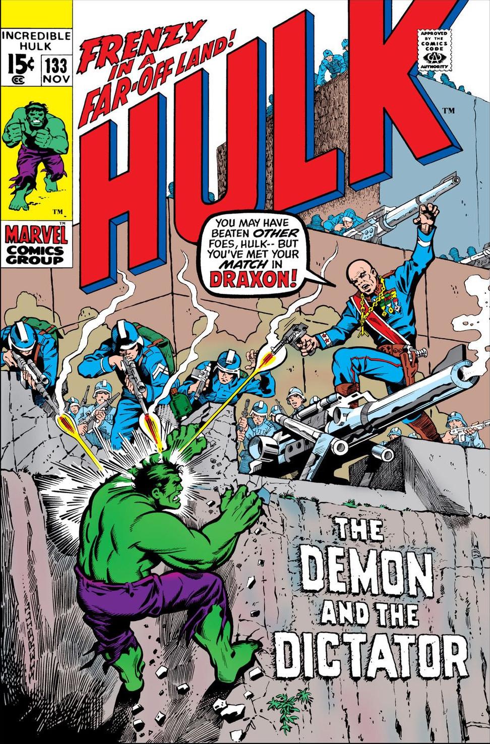 Incredible Hulk Vol 1 133