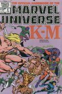Official Handbook of the Marvel Universe Vol 1 6
