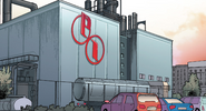 Parker Industries Chemical Plant from Amazing Spider-Man Vol 4 16 001