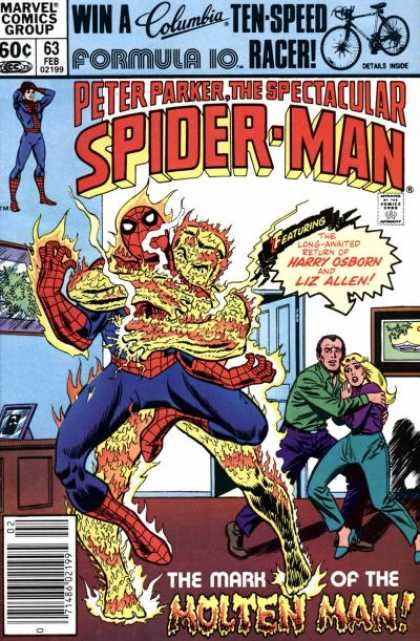 Peter Parker, The Spectacular Spider-Man Vol 1 63