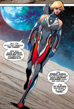 Sharon Rogers (Earth-415) from Marvel Future Fight An Eye on the Future Vol 1 1 004