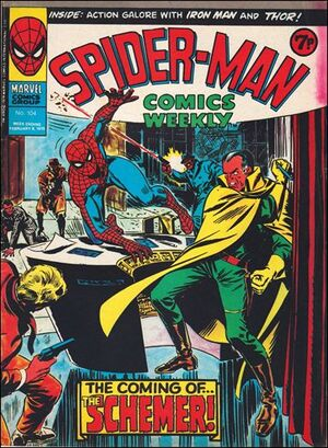 Spider-Man Comics Weekly Vol 1 104